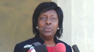 NAIROBI, Kenya, Feb 9 – Lands Cabinet Secretary Charity Ngilu now says the Chairman of the Commission for the Implementation of the Constitution (CIC) Charles Nyachae should raise his grievances with the ministry instead of calling for her sacking.