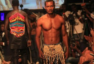 Models on the runway during the 2014 FAFA event in Nairobi. Shows like FAFA always feel steeped more in the glitz and glamour of creative presentations rather than money in the bank of the designers. (Photo:Elvis Ogina/Standard)