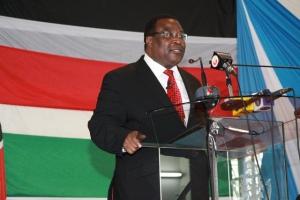 Senate Speaker Ekwee Ethuro