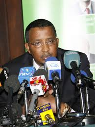 IEBC Chairman Isaak Hassan during a past press conference